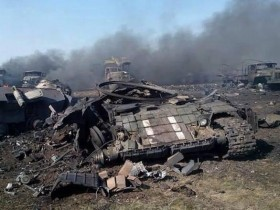 ФОТО места смерти военных на Луганщине