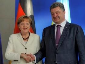 Петр Порошенко,Ангела Меркель,