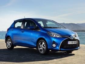 Новая Тойота Ярис возникла на Украине