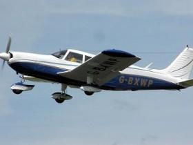 моторный самолет