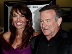 Робин Уильямс с супругой