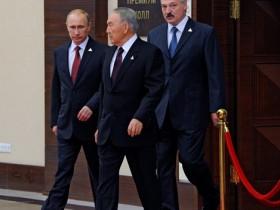 Путин, Лукашенко.Назарбаев