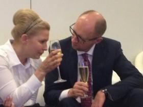 Яценюк и Тимошенко