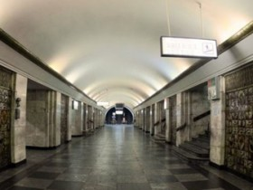 станция метро Крещатик