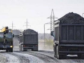 РФ продолжает экспортировать уголь с шахт Донбасса
