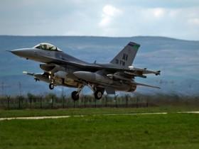 истребители НАТО F16