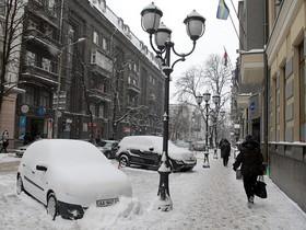зима,Киев