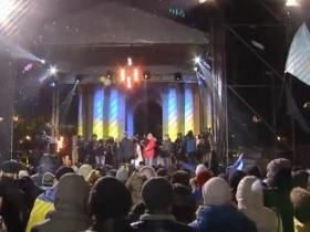 """В Киеве на Майдане стартовала """"Ночь памяти"""", Онлайн-трансляция"""
