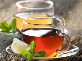 Темный либо зеленый чай