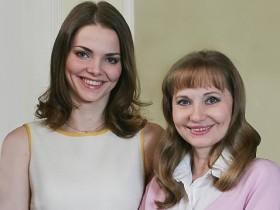 Лиза Боярская с мамой