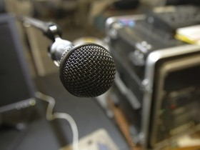 радио,микрофон