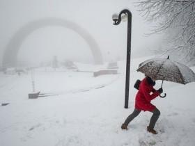 снегопад,метель,