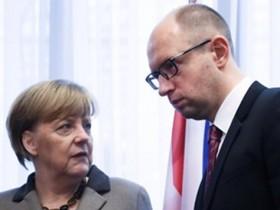 Яценюк и Меркель