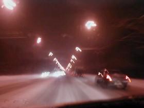 освещение на трассе
