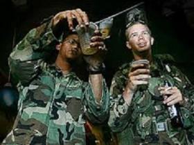 Рада установит лимит на спиртное для бойцов в зоне АТО