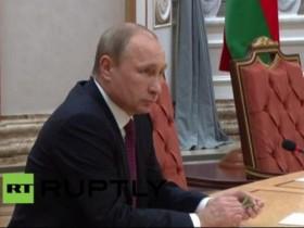 Путин сломал ручку на минских переговорах (ФОТО, ВИДЕО)