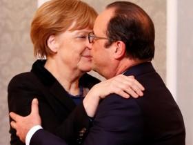 Олланд и Меркель