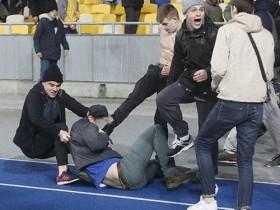 Установлены зачинщики беспорядков на матче Динамо - Генгам
