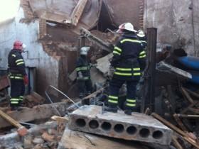 взрыв спасатели