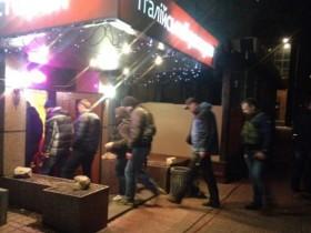 В офис Укртранснафты ворвался Коломойский и вооруженные люди