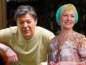 Александр Збруев с женой