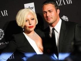 Леди Гага и ее будущий муж Тейлор Кинни