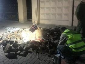 В Одессе взорвали коммуникационный колодец