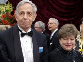 Джон Нэш с супругой