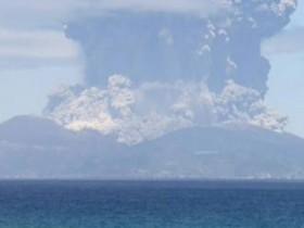 Извержение вулкана Кутиноэрабу в Японии, идет эвакуация