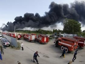 пожар,нефтебаза