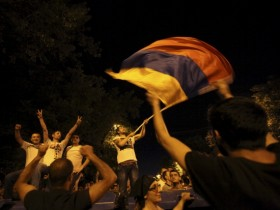 В Армении протесты уже охватили пять городов (ВИДЕО)