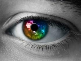 цвет,глаз