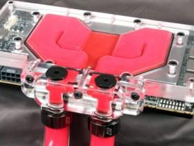Водоблок Komodo R9 FuryX Eco для адаптеров Radeon R9 Fury