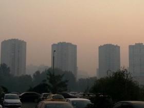 Загрязнение воздуха в Киев