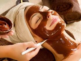 маска из шоколада