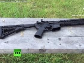 """В США выпустили винтовки для """"христиан"""" с крестом (ВИДЕО)"""