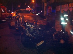ВИДЕО: Смертельное ДТП в Черкассах: 3 чел. погибли, 8 ранены