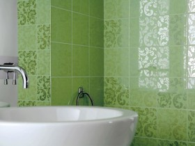 керамическая,плитка,ванная
