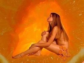 Апельсиновая ванна для бархатистой кожи