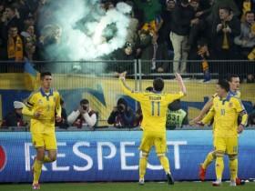 Сборная Украины выиграла у команды Словении (ФОТО)