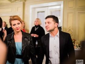 Владимир Зеленский с супругой Леной