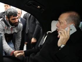 Президент Турции спас мужчину от самоубийства (ФОТО, ВИДЕО)