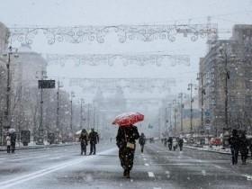 Киев,зима,Крыжеватик