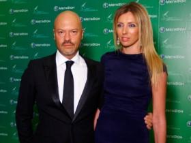 Теодор Бондарчук с супругой