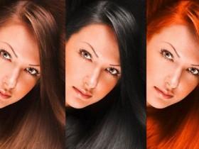 тень для волос
