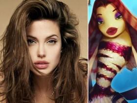 Анджелина Джоли и её русалка Лола