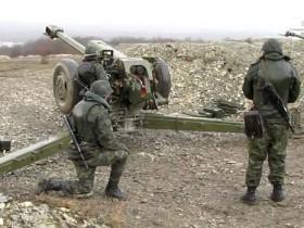 ДНР,пушка