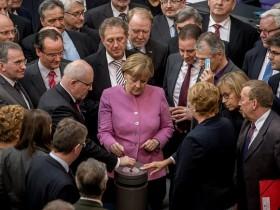 Голосование в Бундестаге