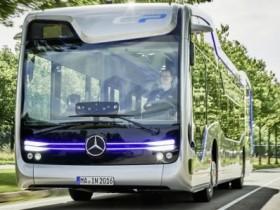 беспилотный автобус,Mercedes-Benz