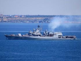 десантный фрегат USS Whitbey Island LSD41